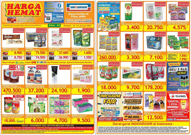 Katalog Indogrosir Terbaru Promo 15 - 21 Januari 2021