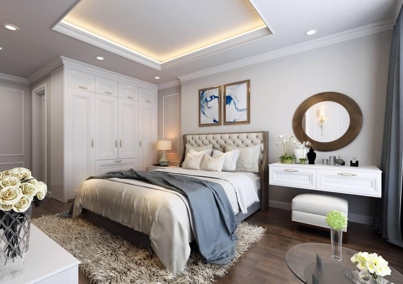 Nội thất căn hộ 3 phòng ngủ chung cư Sunshine Garden