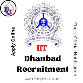 IIT Dhanbad Recruitment 2021 for Junior Assistant Job Vacancy | IIT Dhanbad Recruitment 2021 Official Notification Pdf & Apply Online
