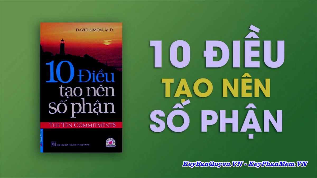 Sách nói - 10 Điều Tạo Nên Số Phận - David Simon [Tiếng Việt + MP3]