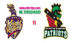 Who will win Today CPL T20 2019 14th Match Trinbago vs Nevis Patriots