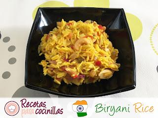 Arroz Biryani (Biryani Rice)