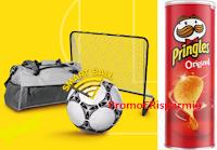 Logo Con Pringles Vinci il mondo del Calcio : ogni 90 minuti 1 dei 642 premi