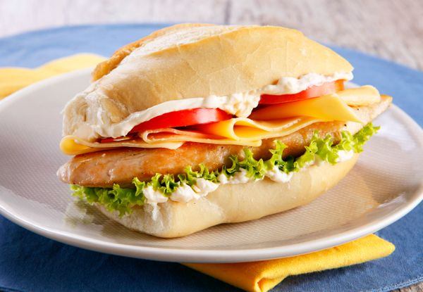 2. Sanduíche de ovo com queijo