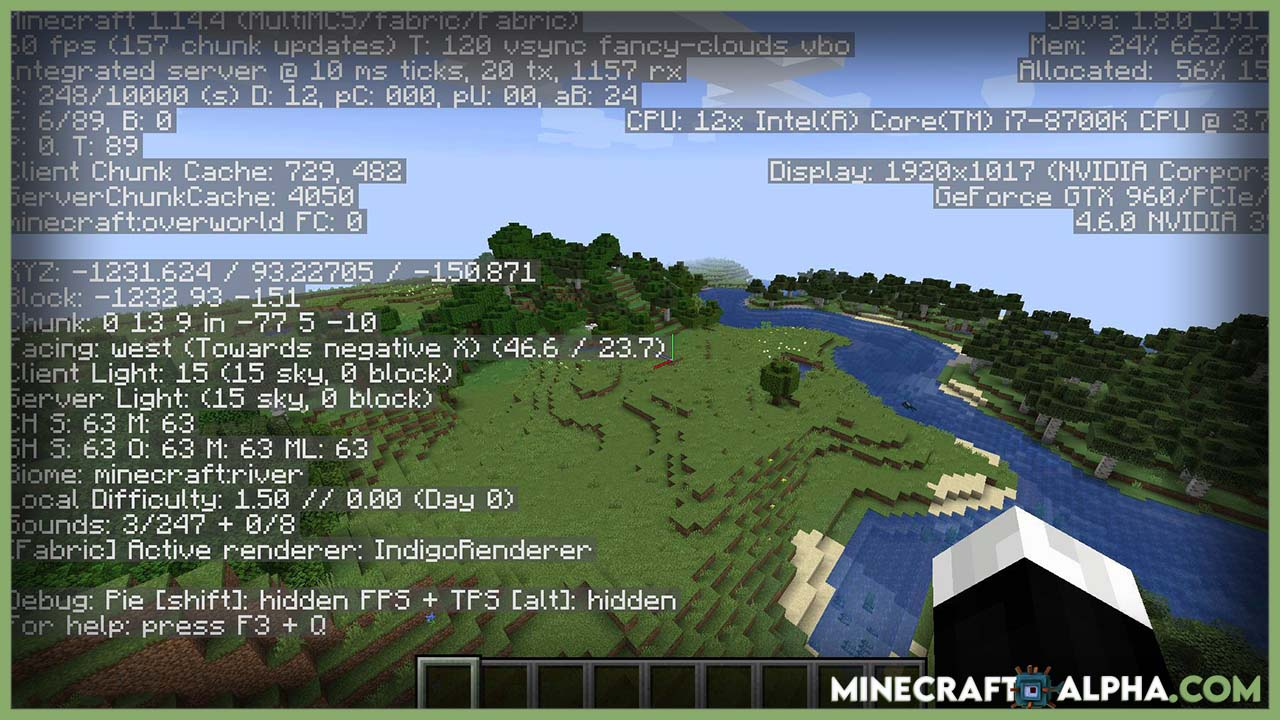 Minecraft Dynamic FPS Mod 1.17.1 (Improve Performance in Background)