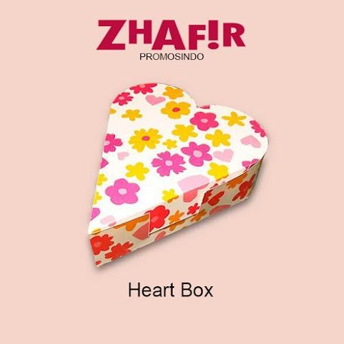 Cetak Kemasan Heart Box