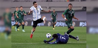 Argentina le ganó a Bolivia. (Foto: Conmebol)