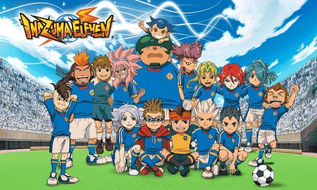Inazuma Eleven - Daftar Anime Sport terbaik Sepanjang Masa