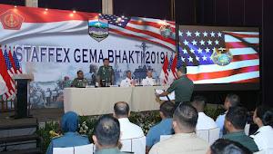 Latihan  Staf Gema Bhakti 2019 Libatkan TNI dan USINDOPACOM