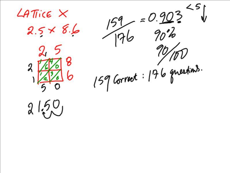 Di Croce St. Simon: sept 25 math overview & homework