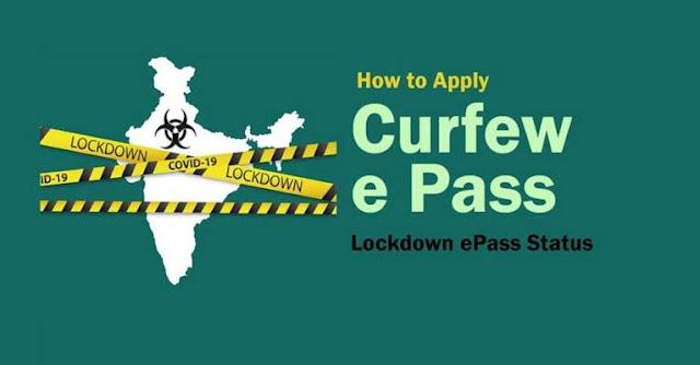 Coronavirus lockdown curfew pass