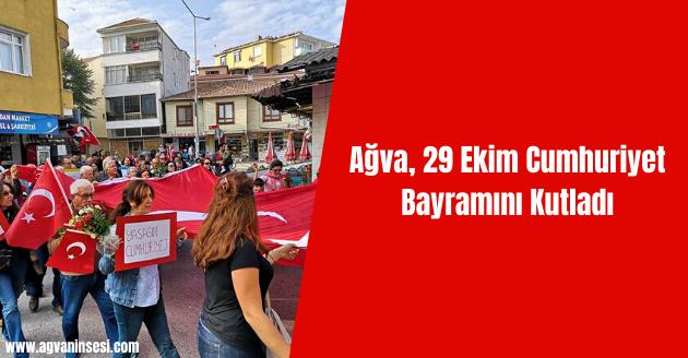 Ağva, 29 Ekim Cumhuriyet Bayramını Kutladı