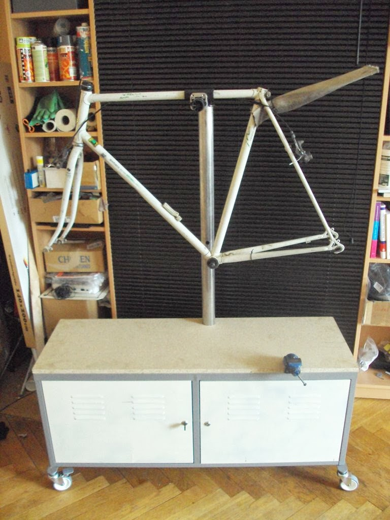 Cheap Side Tables For Living Room Rooms Ideas Small Space Ps To Bicycle Repair Stand - Ikea Hackers