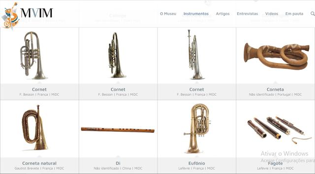 Museu Virtual de Instrumentos Musicais