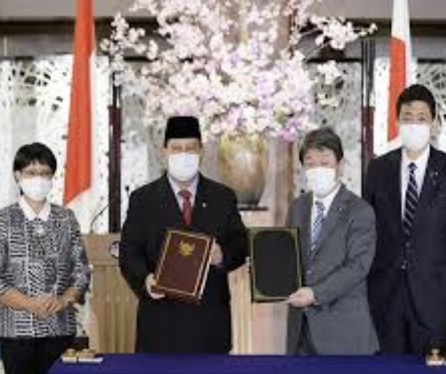 Japan- China Relation decline ,Japan  Defance Deal with Indonesia