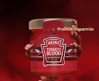Heinz : vinci gratis 50 salse Tomato Blood