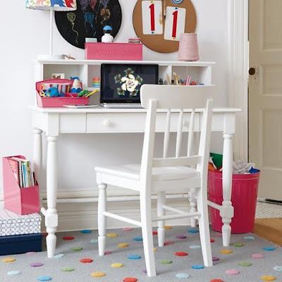 meja belajar anak permpuan