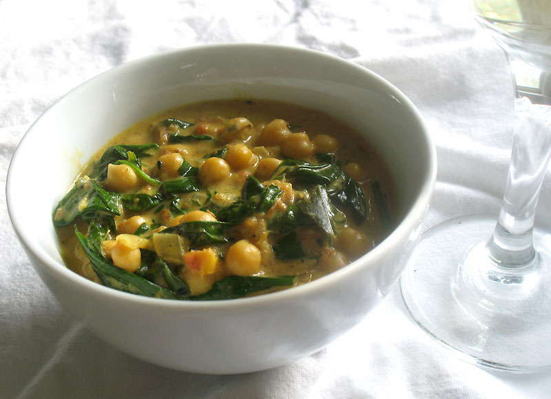 Spinach And Chickpea Soup Lazy Kitchen