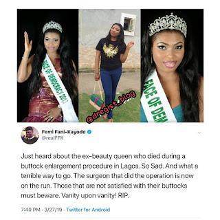 Butt Enlargement Surgery of Beauty queen
