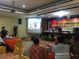 Fatwa MUI Soal Syiah Disampaikan Kepada Kapolrestabes dan Dandim Makassar