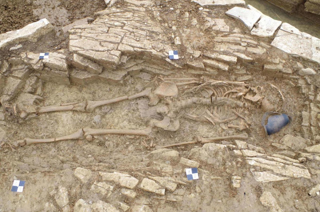 Undisturbed burials on school site shed light on Roman Somerset