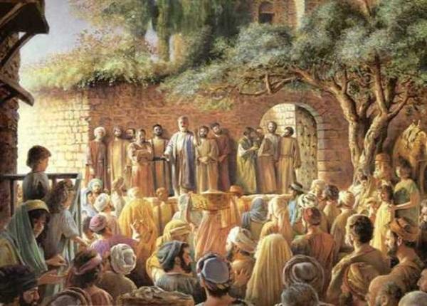Народження християнської церкви