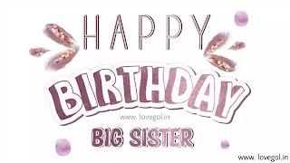 Birthday Wishes for Elder Sister