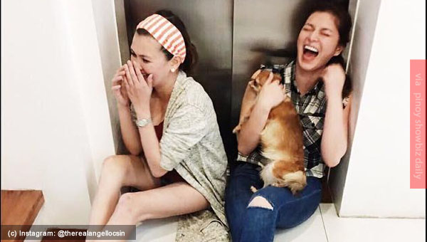 Look: Angel Locsin and Angelica Panganiban having fun