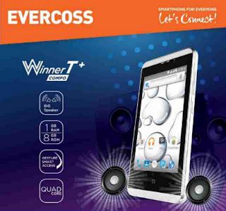 Harga dan Spesifikasi Evercoss Winner T+ A74E Terbaru