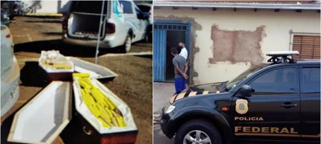 Polícia Federal encontra drogas dentro de caixões com 'vítimas de Covid-19' - Adamantina Notìcias