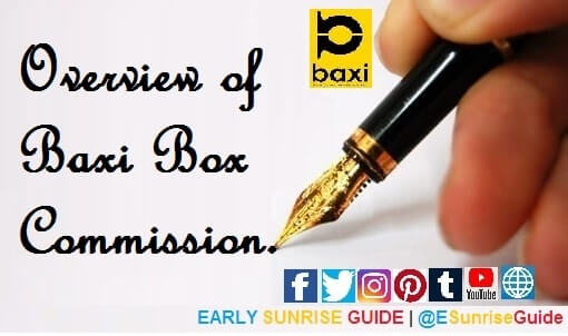 Overview of Baxi Box Commission