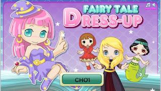 Game thời trang cổ tích đáng yêu nhất