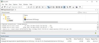 Upload Zend Server to Server