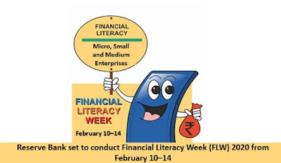 Reserve Bank set to conduct Financial Literacy Week (FLW) 2020 from 10-14 February