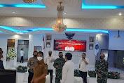 Rapat Koordinasi Presiden RI Bersama Kepala-Kepala Daerah Dan Forkopimda Dihadiri Kepala Staf Kodim 1310/Bitung