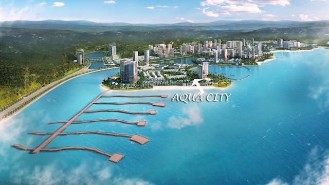 Vị trí Kim Cương của Aqua City Hạ Long