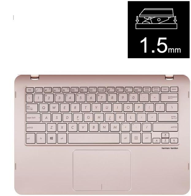 Touchpad di ASUS ZenBook Flip UX360UA