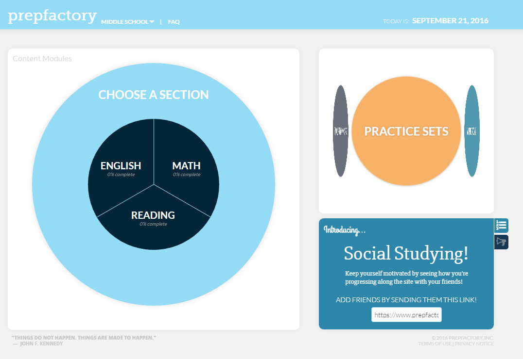 Free Technology for Teachers: A Short Overview of PrepFactory for ...