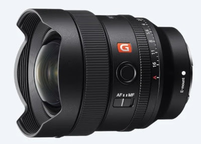 Sony FE 14mm F1.8 GM Wideangle Lens