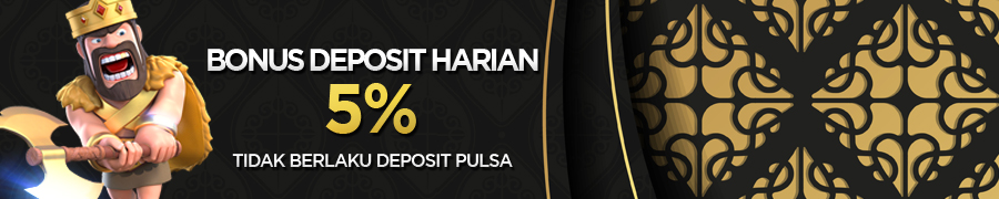 DEPOSIT 5%