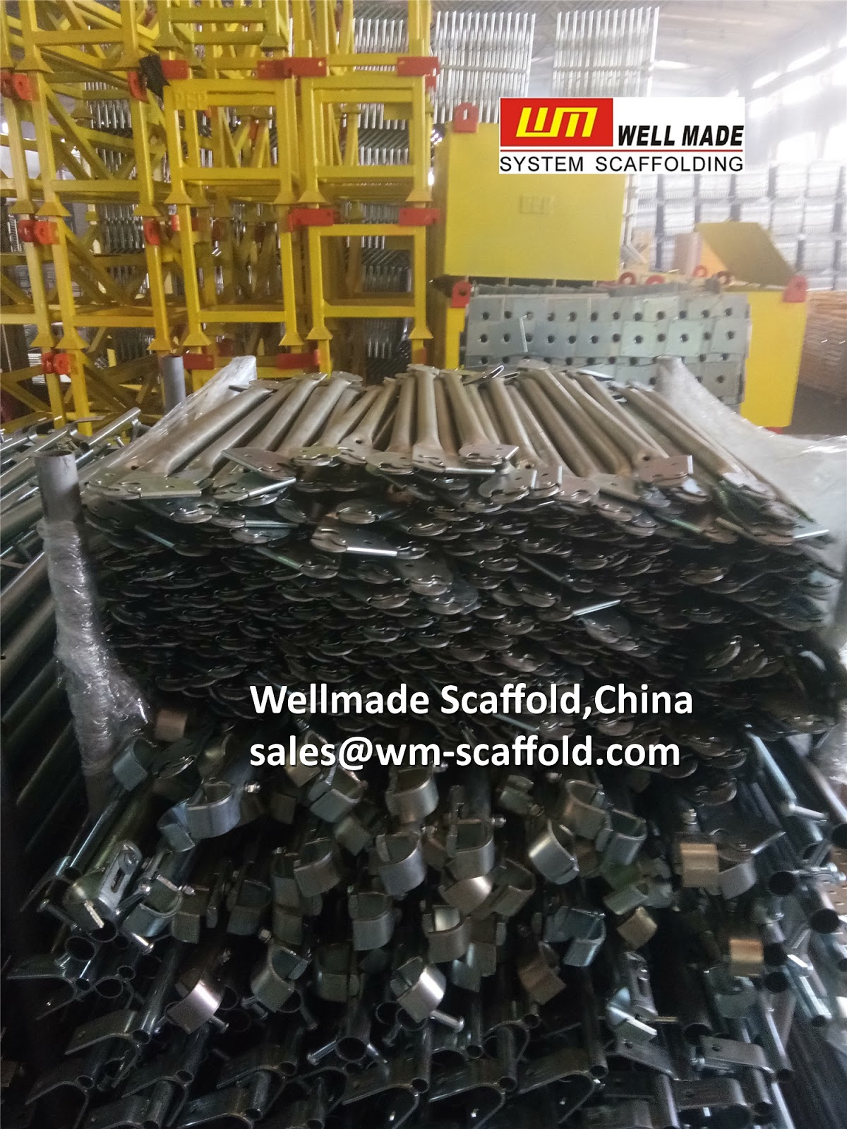 Scaffolding Guardrail Post to USA for Snap On Lock Pin Scaffolding