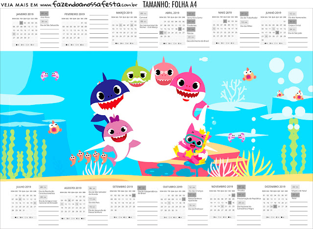 Baby Shark: Free Party Printables.
