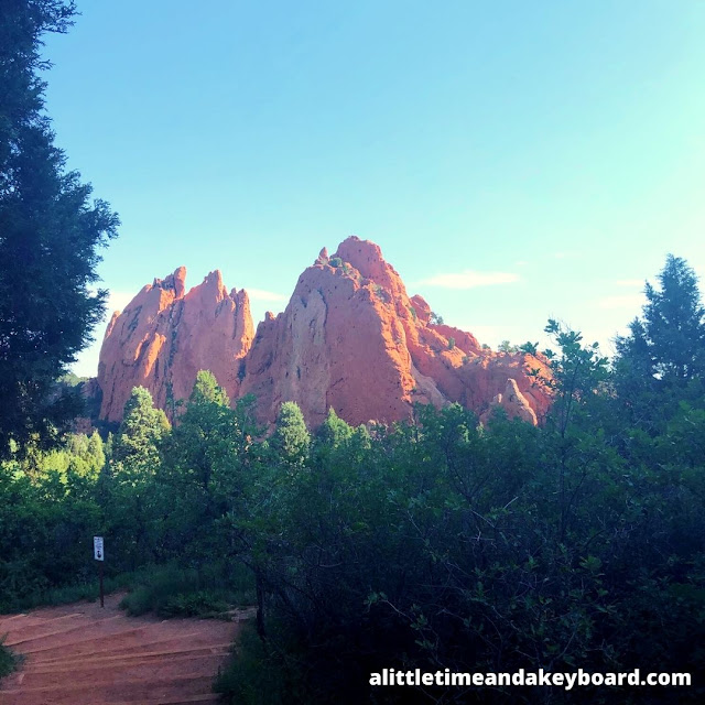 Some trails climb up for another perspective at Garden of the Gods