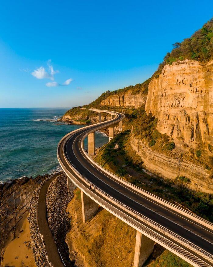 The Sea Cliff Bridge, Australia