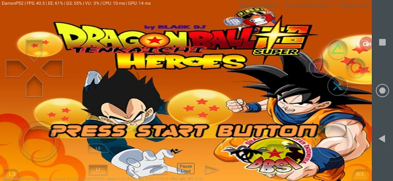 Dragon Ball Super Tenkaichi 3 Heroes MOD PS2 ISO Download