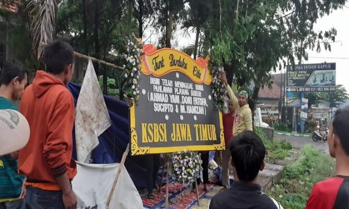 Garteks KSBSI Tangerang Turut Berbela Sungkawa Atas Meninggalnya 4 Buruh di Pasuruan