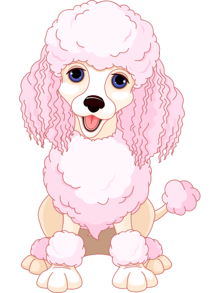Pink Poodle Icon