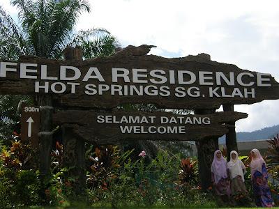 Kenangan Bercuti Di Felda Residence Hot Springs Sungai Klah