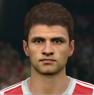 PES 2017 Faces Thomas Müller by Sameh Momen