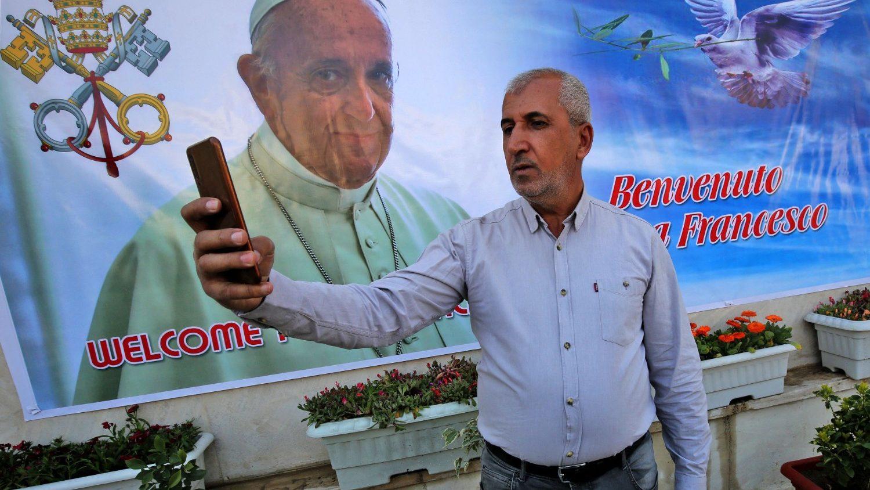 Irak ya espera a Francisco